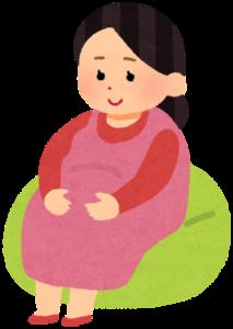 イラスト=妊婦さん
