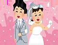 イラスト=冠婚葬祭の婚